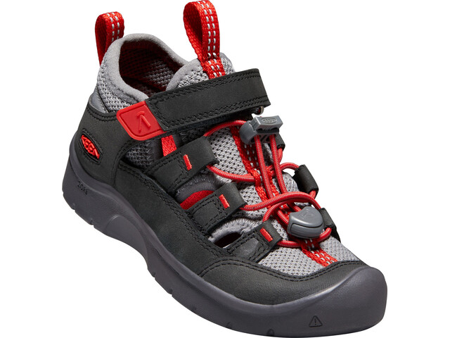 size 40 6bab4 ab0f2 Keen Hikeport Vent Scarpe Bambino, raven/firey red